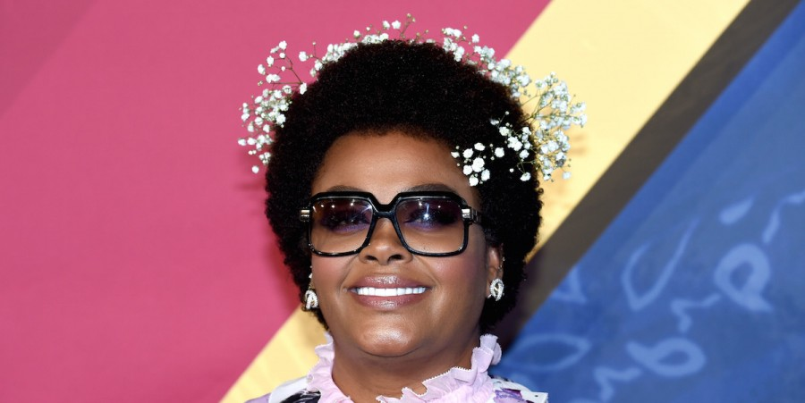 Jill Scott attends the 2016 Soul Train Music Awards at the Orleans Arena on November 6, 2016 in Las Vegas, Nevada