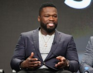 50 Cent speaks onstage during the 'Power' panel discussion at the Starz portion of the 2016 Television Critics Association Summer Tour at The Beverly Hilton Hotel on August 1, 2016 in Beverly Hills, California