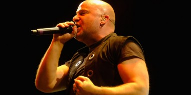 David Draiman of Disturbed performs at Ozzfest 2016 at San Manuel Amphitheater on September 24, 2016 in Los Angeles, California