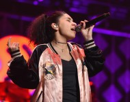 Alessia Cara performs on stage during KISS 108's Jingle Ball 2016 at TD Garden on December 11, 2016 in Boston, Massachusetts