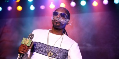 Snoop Dogg performs onstage Hilarity for Charity's 5th Annual Los Angeles Variety Show: Seth Rogen's Halloween at Hollywood Palladium on October 15, 2016 in Los Angeles, California