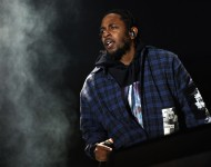 Kendrick Lamar performs at Austin City Limits Music Festival 2016 at Zilker Park on October 1, 2016 in Austin, Texas