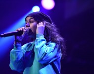 Alessia Cara performs onstage at Hot 99.5's Jingle Ball 2016 at Verizon Center on December 12, 2016 in Washington, DC
