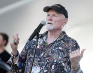 Mike Love of The Beach Boys performs during the 27th National Memorial Day Concert Rehearsals on May 28, 2016 in Washington, DC