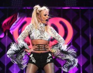 Britney Spears performs at the 102.7 KIIS FM's Jingle Ball 2016 on December 02, 2016 in Los Angeles, California