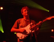 Mac DeMarco performs onstage during FYF Fest 2016 at Los Angeles Sports Arena on August 28, 2016