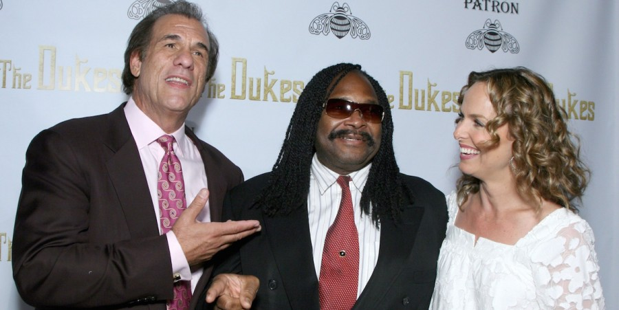 Robert Davi, composer Alphonse Mouzon and actress Melora Hardin at a special screening of Robert Davi's 'The Dukes' on August 27, 2007 in Los Angeles, California