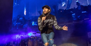 Chris Brown performs at Real 92.3's The Real Show at The Forum on November 5, 2016 in Inglewood, California