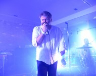 James Murphy (of LCD Soundsystem) performs at the Kola House Opening Party at Kola House on September 20, 2016 in New York City