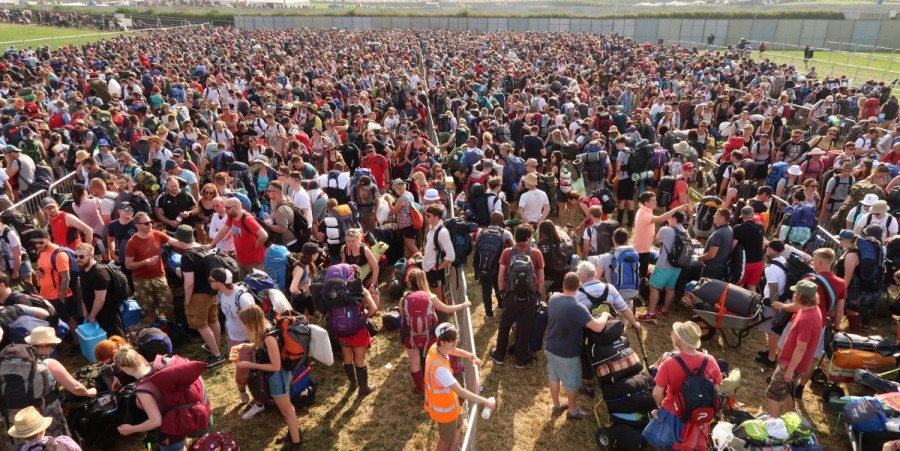 BoomTown Fair music festival struck by controversy as people 'faint' after queueing for 'up to five hours