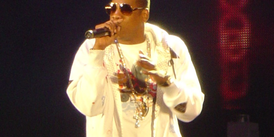 Jay-Z at a concert in 2006.