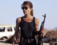 Linda Hamilton as Sarah Conner