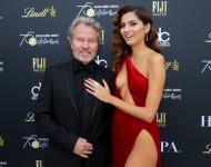 Blanca Blanco On Red Golden Globes Dress Criticism: