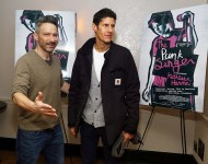 Beastie Boys rappers Adam Horovitz and Michael Diamond in November 2017