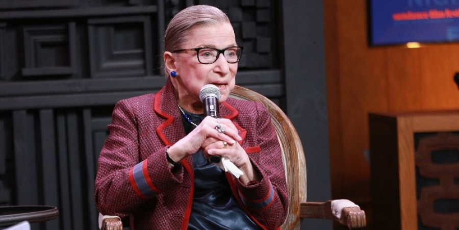 Supreme Court Justice Ruth Bader Ginsburg Shares Her Sexual Harassment Experience At Sundance
