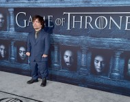 Actor Peter Dinklage at the Game Of Thrones season premiere in April 2016