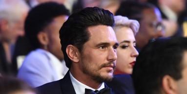 Actor James Franco at the 2018 SAG Awards in L.A.