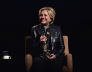 Hillary Clinton Makes Surprise Appearance At 2018 Grammys To Read