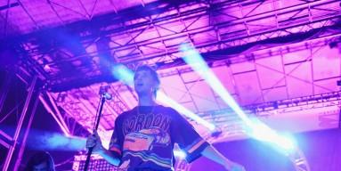 Singer Julian Casablancas onstage with the Voidz in October  2017