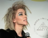 St. Vincent - 29th Annual Rock And Roll Hall Of Fame Induction Ceremony - Press Room