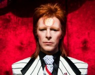 David Bowie Wax Figure