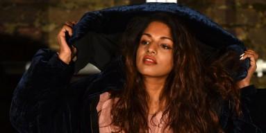 British rapper M.I.A.
