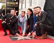 NSYNC Hollywood Walk of Fame