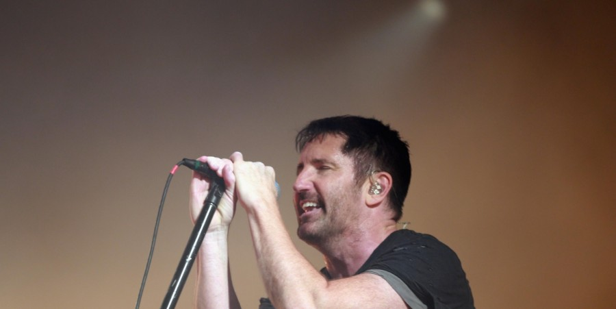 Trent Reznor of Nine Inch Nails performs at FYF Fest 2017