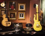 Prince's Yellow Cloud Guitar