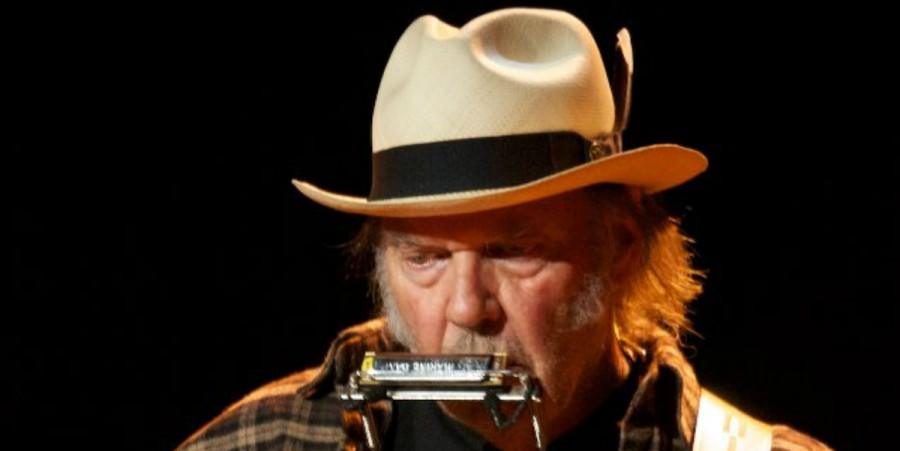 Neil Young For Farm Aid