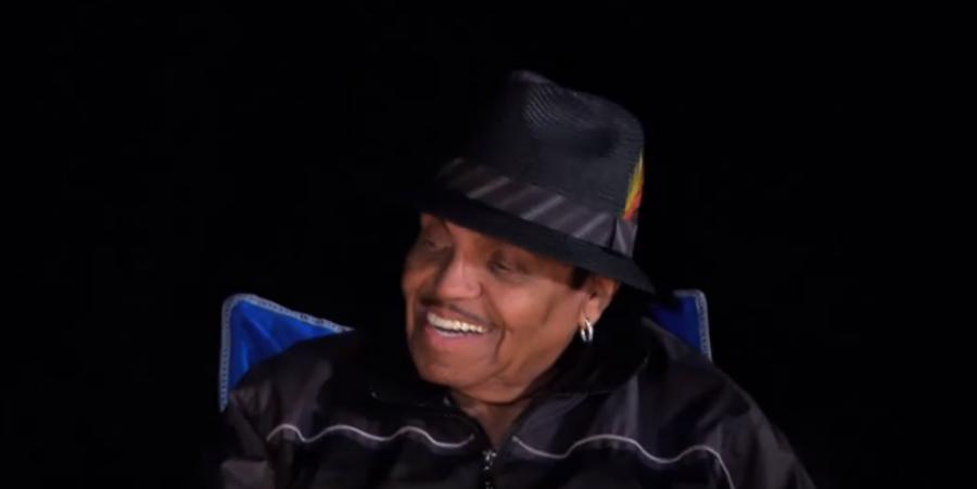 Joe Jackson with La Toya Jackson