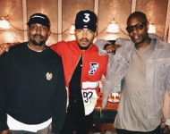 Chance The Rapper with Kanye West