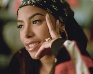 American musician Aaliyah in Germany on May 2000.