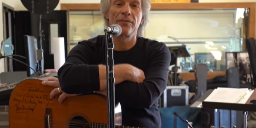 """Jon Bon Jovi in his home studio talking about """"Do What You Can Do"""""""