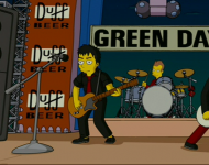Green Day stars in 'The Simpsons Movie'