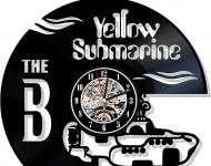 yellow sub clock