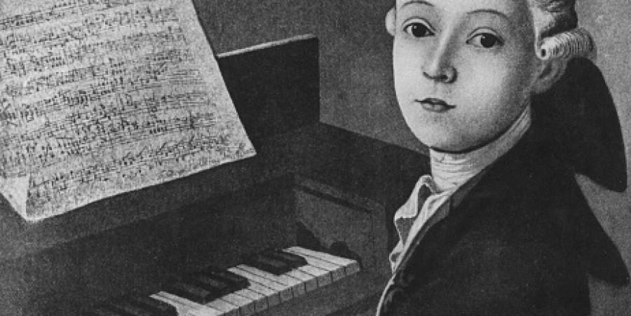 Mozart At Keyboard