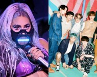Lady Gaga and BTS