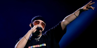 Bad Bunny Performs Virtual Concert from Truck for Hispanic Heritage Month