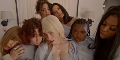 Kim Kardashian Reacts to Billie Eilish Rocking a SKIMS in 'Lost Cause' MV