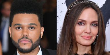 The Weeknd, Angelina Jolie