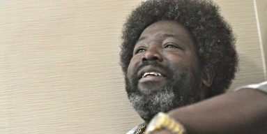 Afroman was up early for Labor Day.
