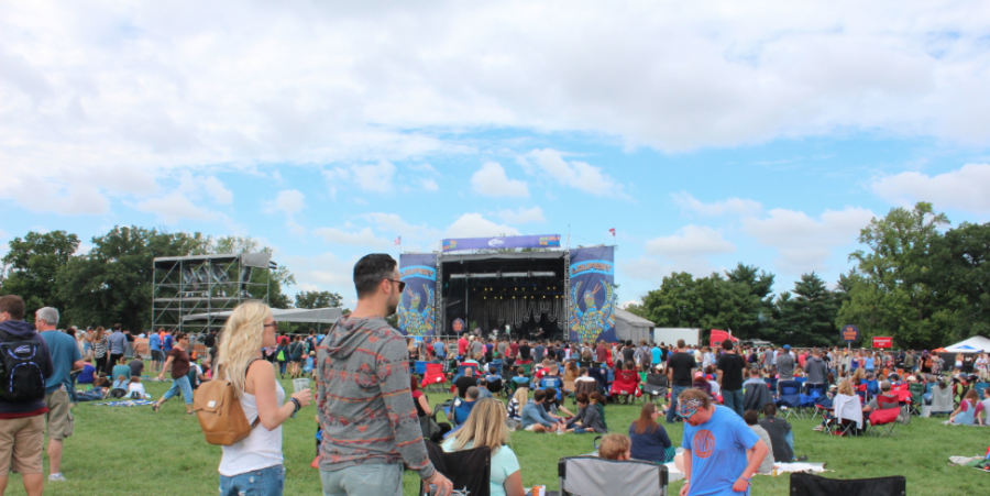 LouFest in Forest Park St. Louis 2014