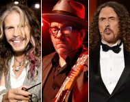 Steven Tyler / Elvis Costello / Weird Al Yankovic