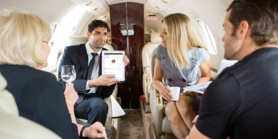 From the Very Top: Rich Socialites Gifted New Media App 'Netropolitan' from James Touchi-Peters