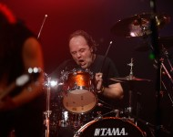 This drummer tried to pull a Lars Ulrich in church