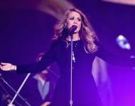 Carrie Underwood at Global Citizen's Fest 2014