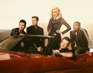 The Voice's Adam Levine, Carson Daly, Gwen Stefani, Blake Shelton and Pharrell
