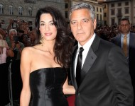 George Clooney and Amal Alamuddin - Getty Images
